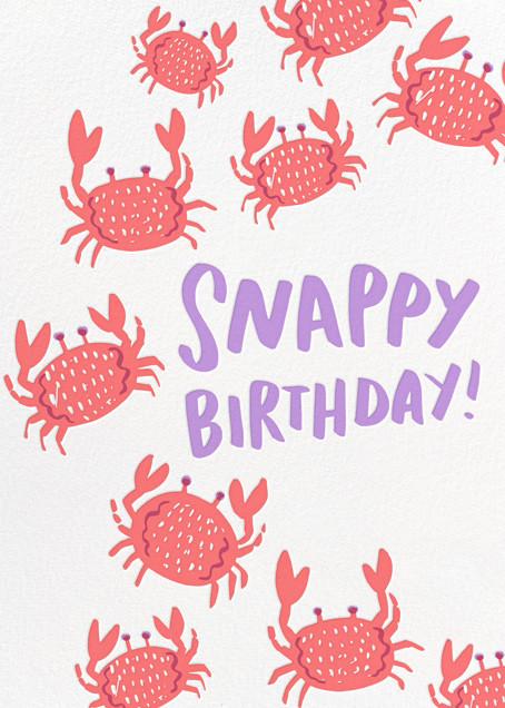 Crustacean Sensation - Hello!Lucky - Birthday