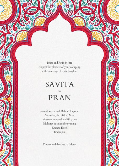 Dvaar (Invitation) - White - Paperless Post - All