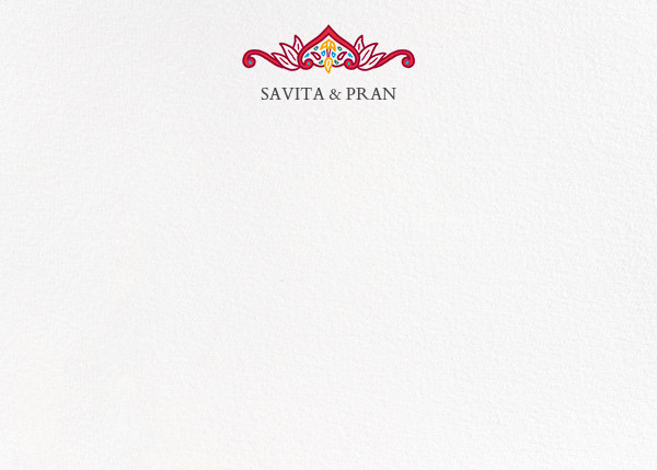 Dvaar (Stationery) - White - Paperless Post - Personalized stationery