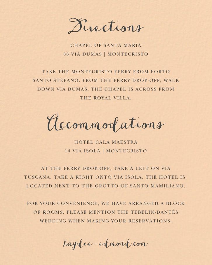 Pilier (Invitation) - Bellini - Paperless Post - Back