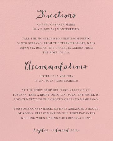 Pilier (Invitation) - Pavlova - Paperless Post - All - card back