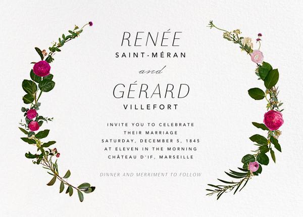Belvoir (Invitation) - White - Paperless Post - All