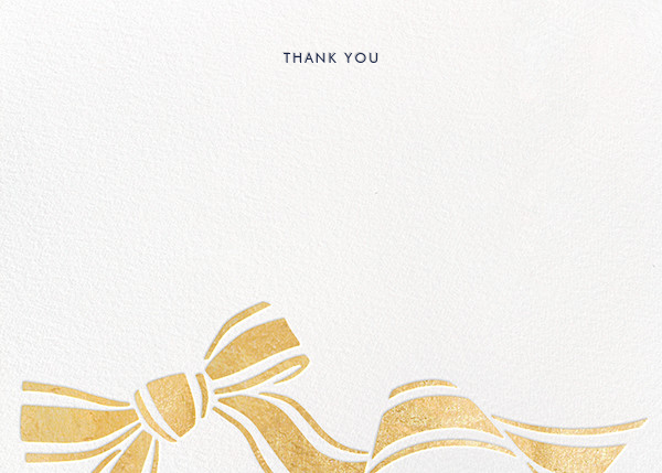 Ellis Hall II (Stationery) - Gold - kate spade new york - General
