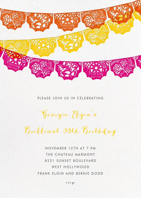 Tulum - Multi - Paperless Post - Theme party