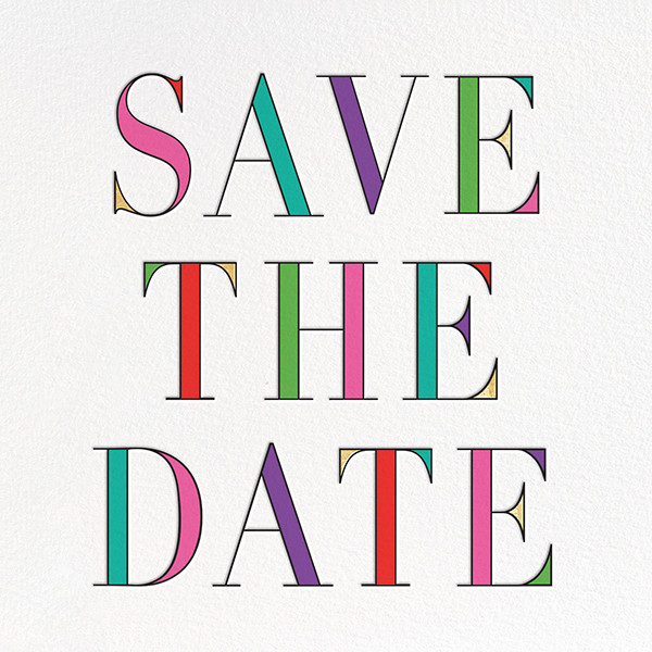 Prism - Multi - kate spade new york - Save the date