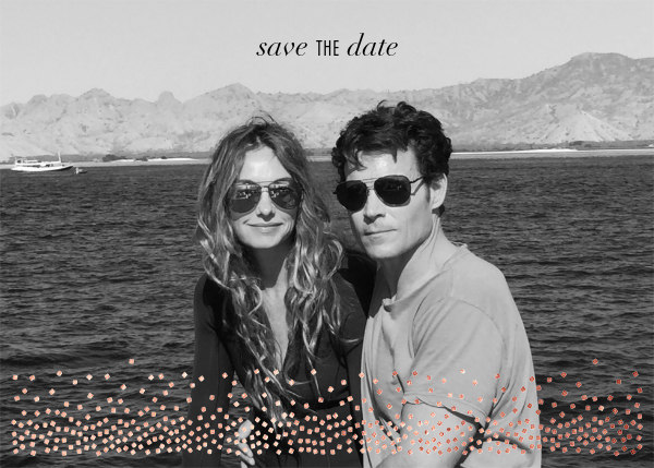 Jubilee (Photo Save the Date) - Rose Gold - Kelly Wearstler - Save the date