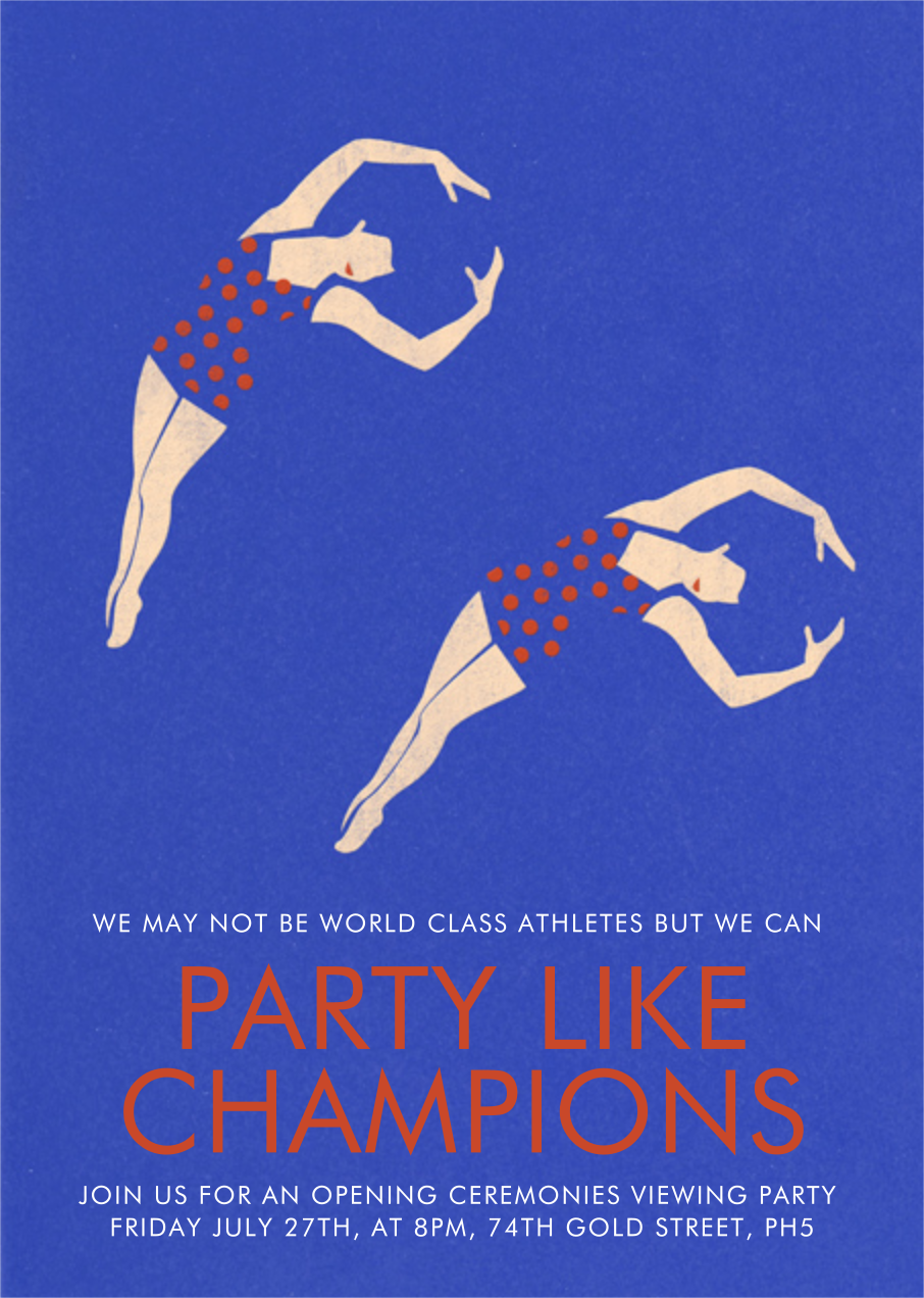 Bathing Beauties (Universe) - Fair - Paperless Post - Pool party