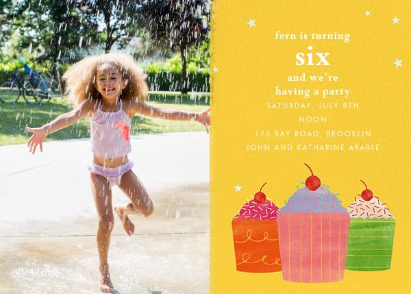 Cupcake Social (Photo) - Paperless Post - Kids' birthday