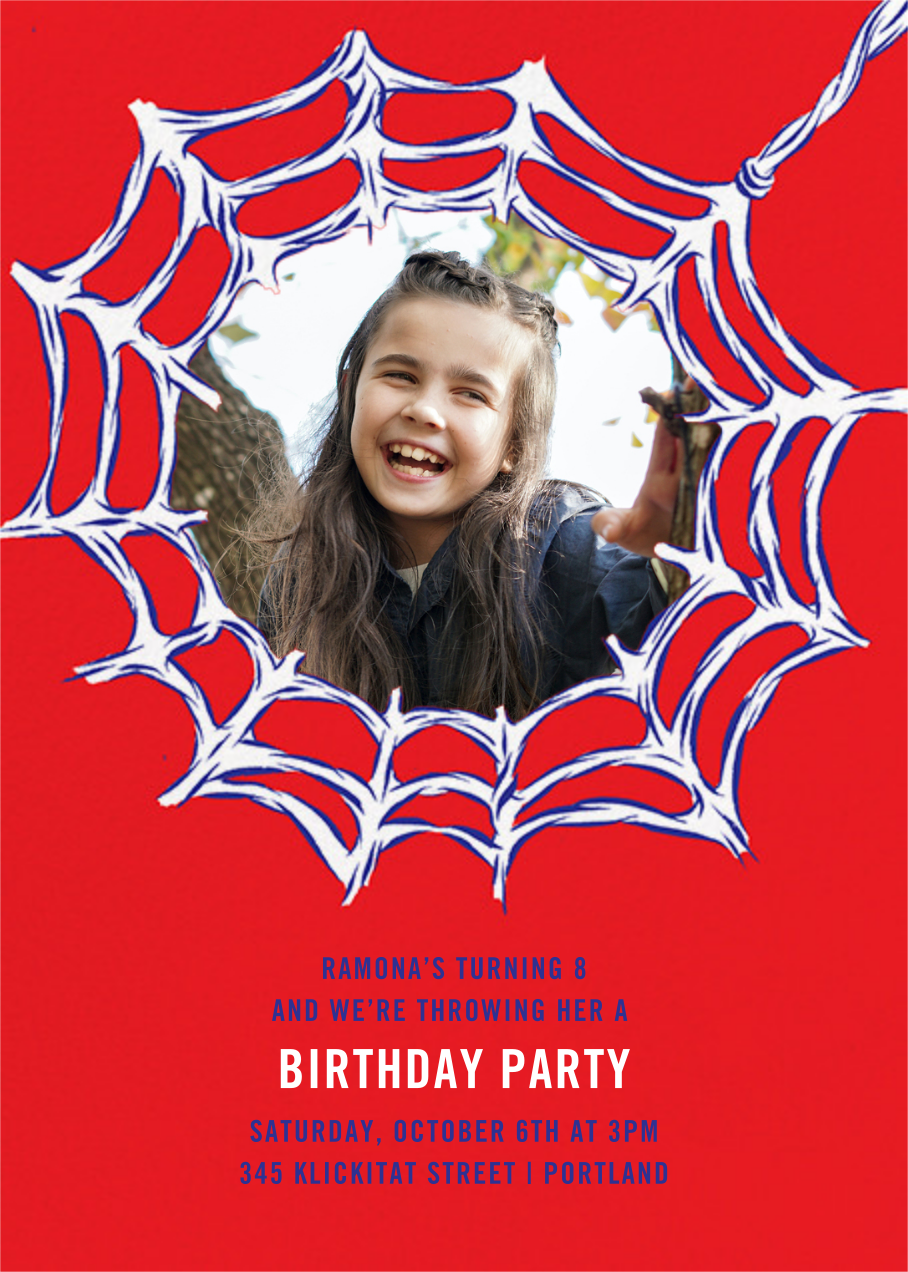Webmaster (Photo) - Paperless Post - Kids' birthday