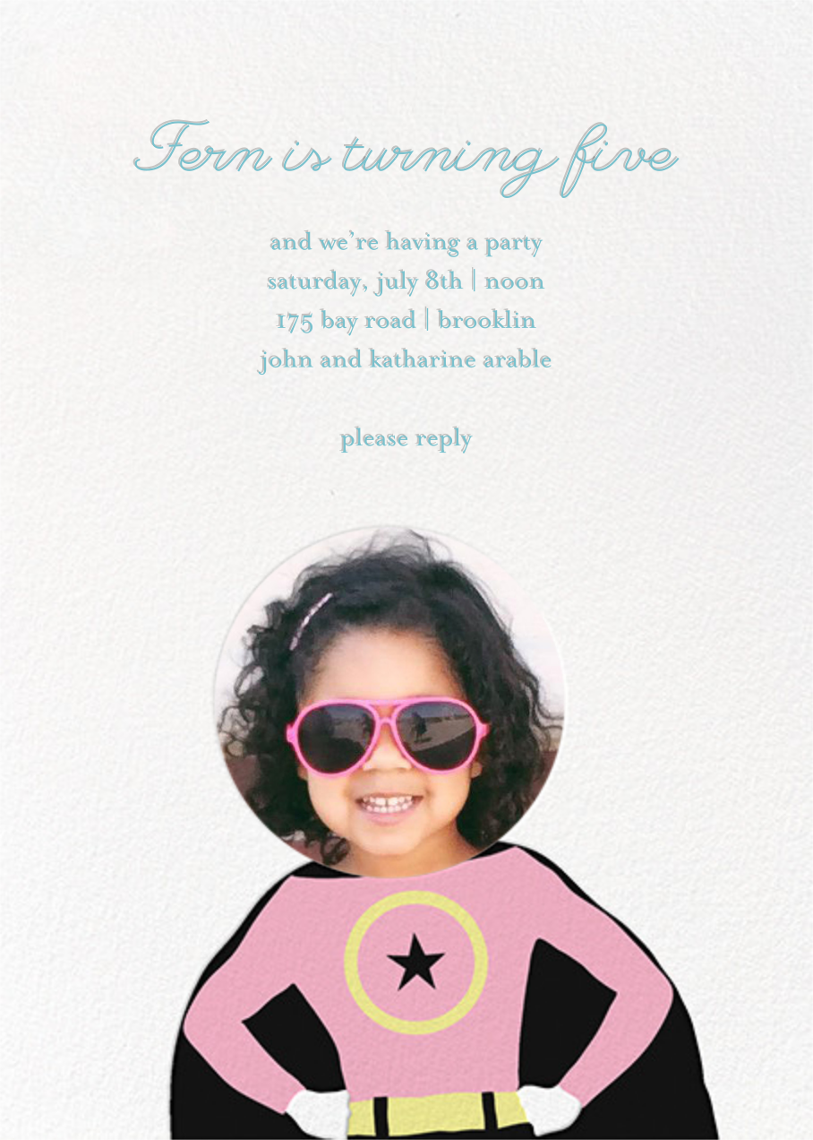 To the Rescue - Pink - Little Cube - Kids' birthday