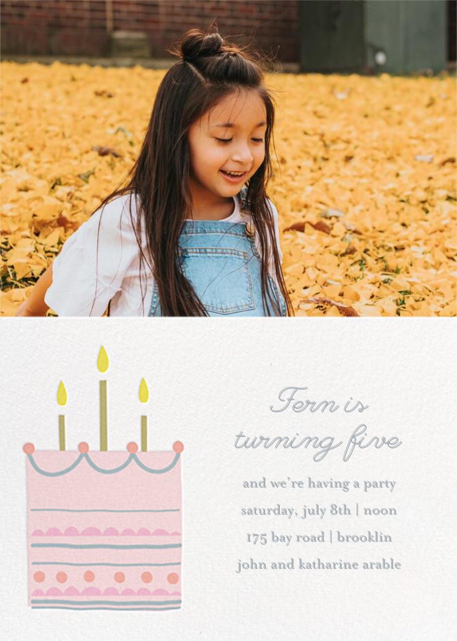 Little Layer Cake - Pink - Little Cube - Kids' birthday
