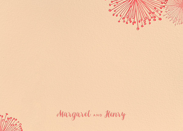 Dandelion (Stationery) - Bellini - Paperless Post - Personalized stationery