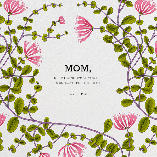 Kuusama (Greeting) - Marimekko - Mother's Day