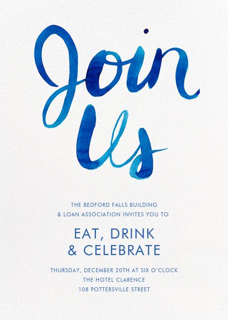 Join Us - Blue - Linda and Harriett - Reception