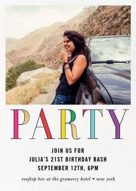 Rainbow Party (Photo) - kate spade new york - Adult birthday