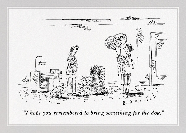 And Your Little Dog Too - The New Yorker - Congratulations