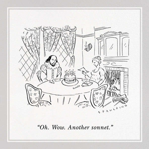 Another Sonnet - The New Yorker - Funny birthday eCards