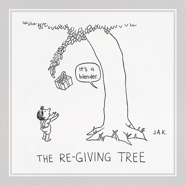 Re-Giving Tree - The New Yorker - Funny birthday eCards