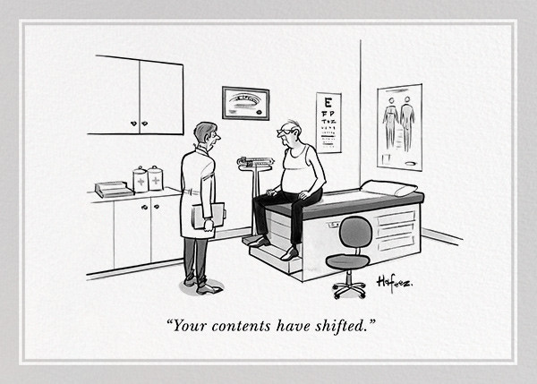 Shifting Contents - The New Yorker - Funny birthday eCards