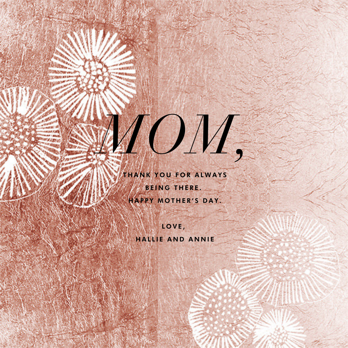 Floret - Rose - Kelly Wearstler - Mother's Day
