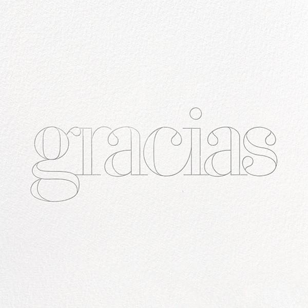 Grace and Gratitude (Gracias) - Silver - Paperless Post