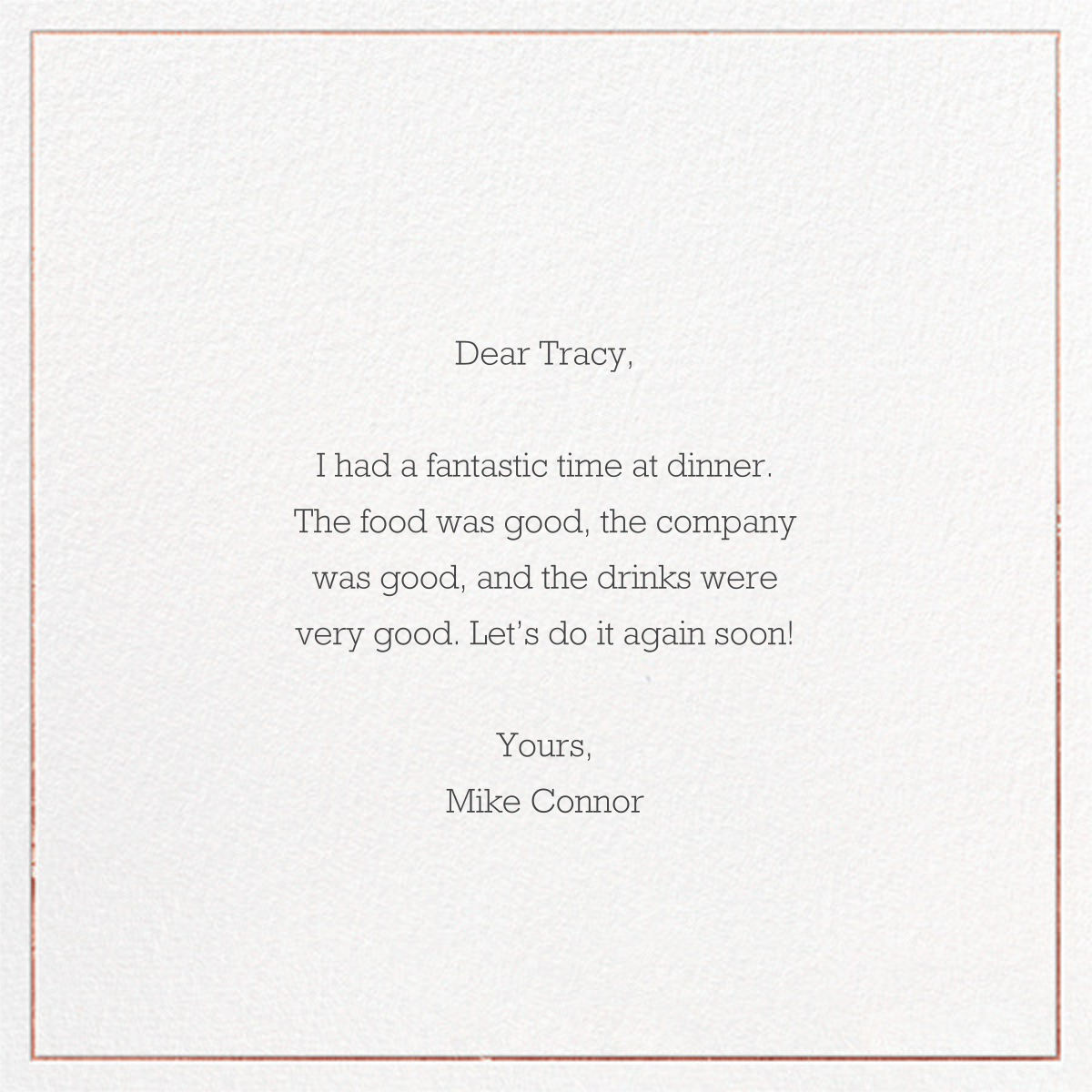 Grace and Gratitude (Thanks) - Rose Gold - Paperless Post - Thank you - card back