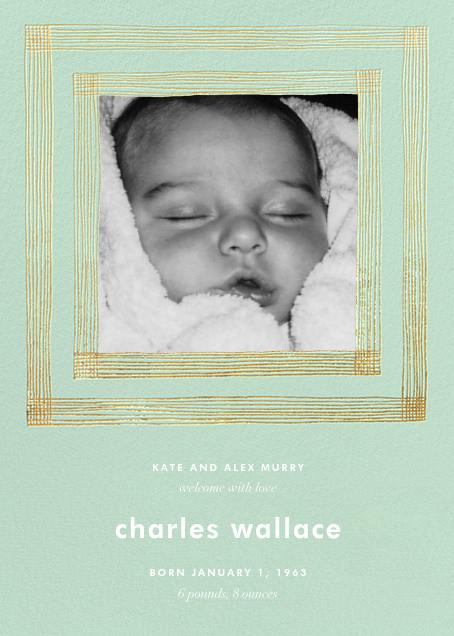 Precise (Tall Photo) - Mint - Kelly Wearstler - Birth