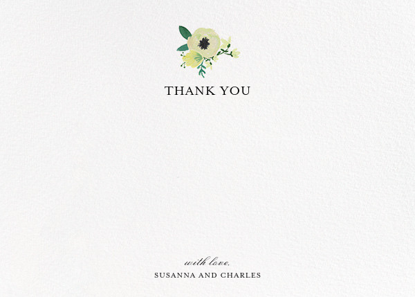 A Floral Wedding (Stationery) - Paper + Cup - Wedding