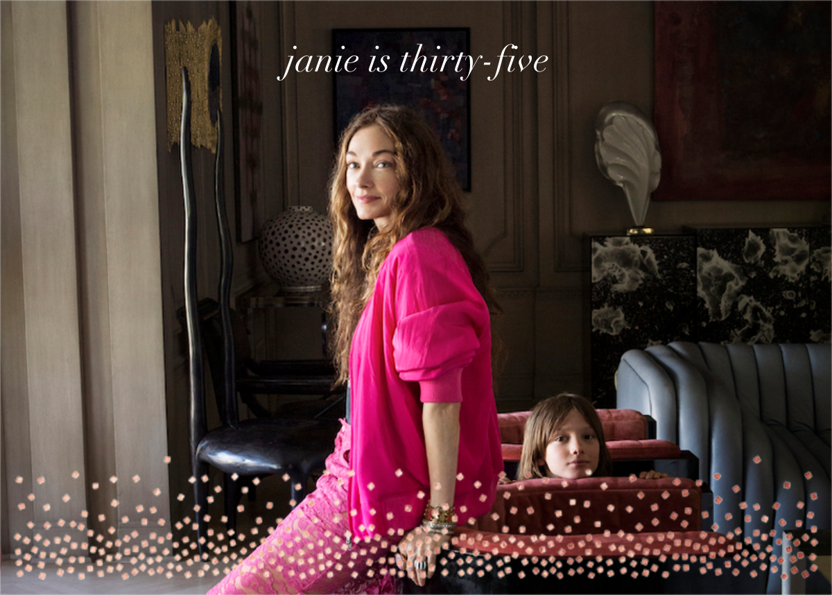Jubilee (Photo) - Rose Gold - Kelly Wearstler - Adult birthday