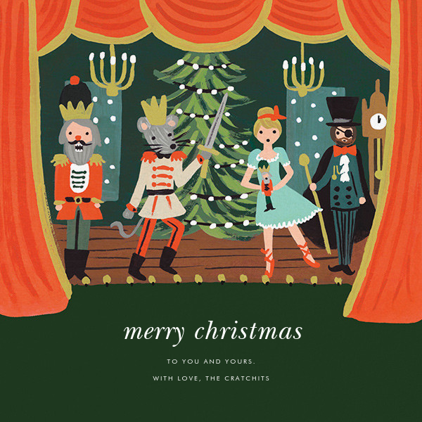 The Nutcracker Suite (Greeting) - Rifle Paper Co. - Christmas