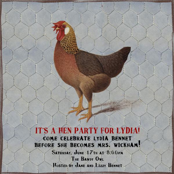 Hen - John Derian - Bachelorette party