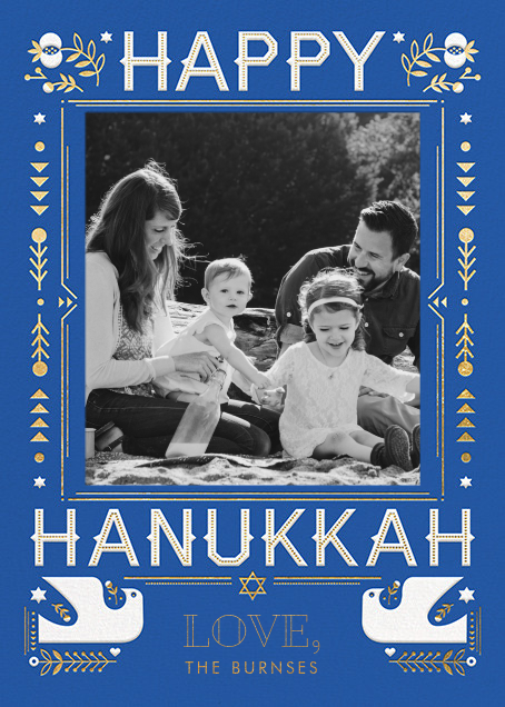 Hanukkah Doves (Photo) - Hello!Lucky - Hanukkah