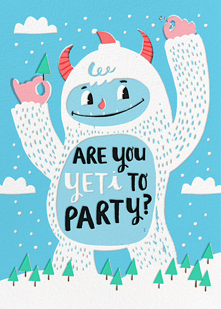 Yeti Party - Hello!Lucky - Winter entertaining