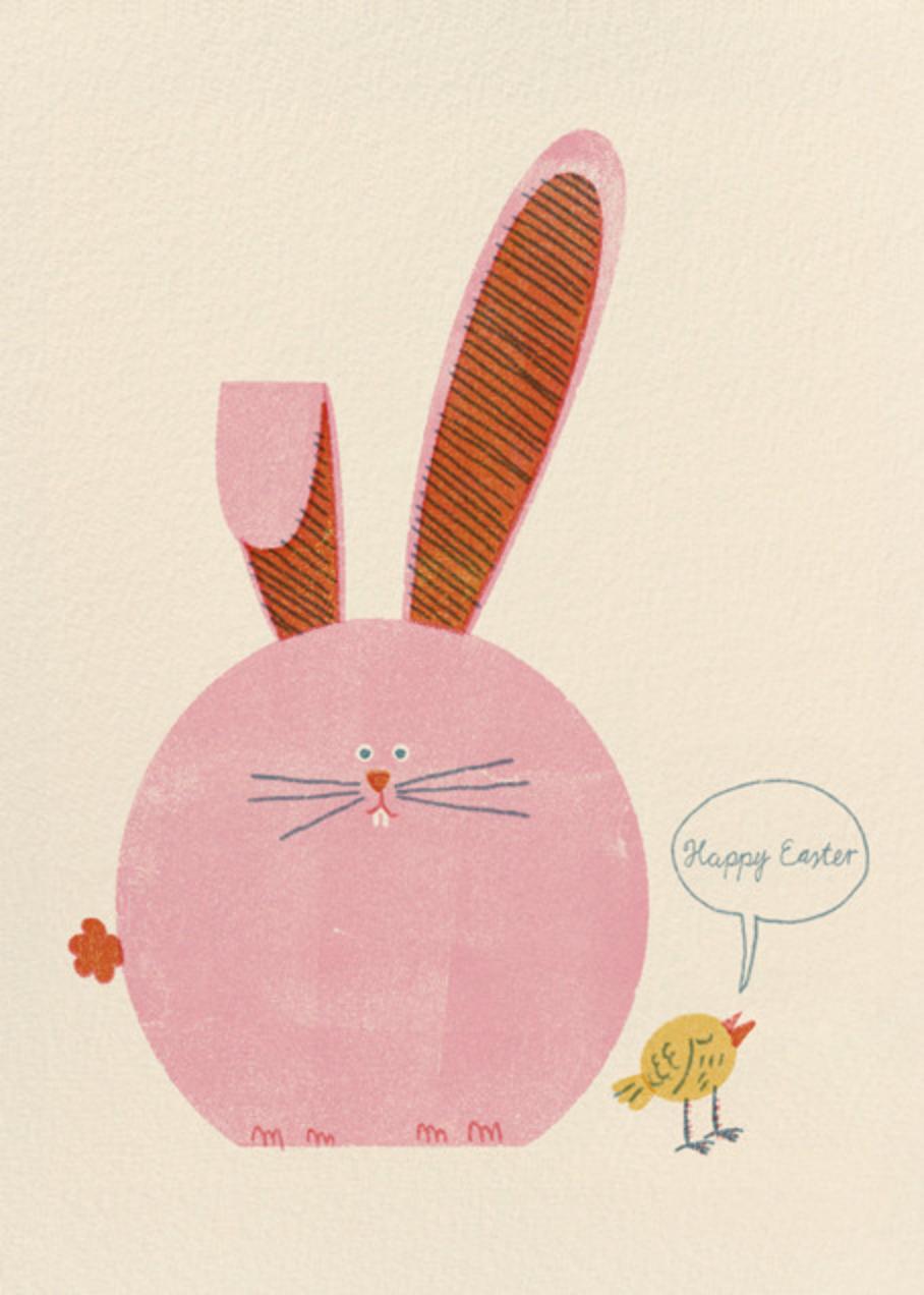 Rotund Rabbit (Barbara Dziadosz) - Red Cap Cards