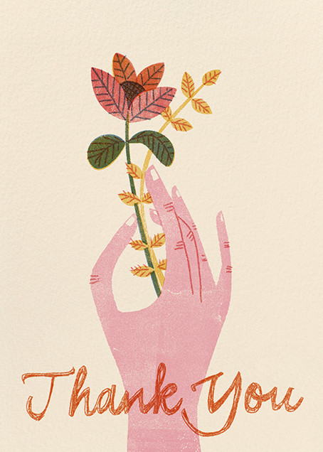 Handy Thank You (Barbara Dziadosz) - Red Cap Cards - Thank you