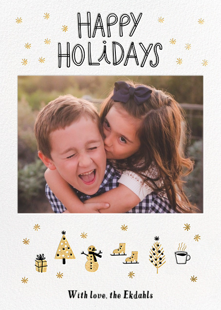 Holiday Attractions - Hello!Lucky - Holiday cards