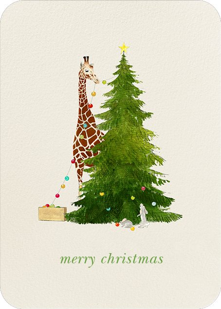Tall Trimmer (Greeting) - Felix Doolittle - Christmas