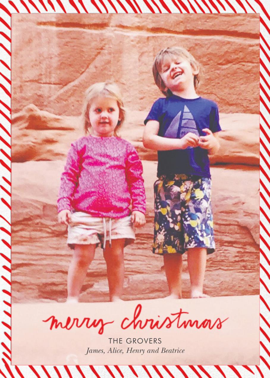 Candy Stripe Christmas (Tall) - Linda and Harriett - Christmas