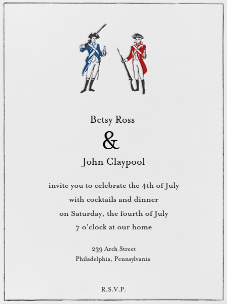 Party Like It's 1776 - Paperless Post - 4th of July