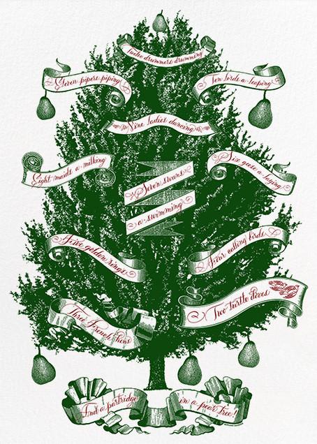 Partridge Tree - Bernard Maisner - Christmas