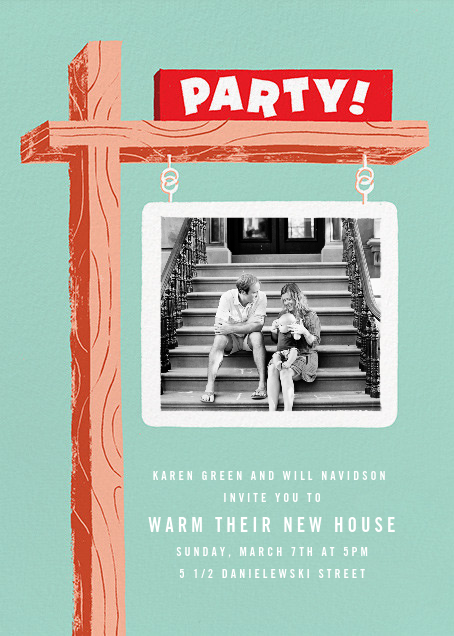 Party Property (Photo) - Paperless Post - Housewarming
