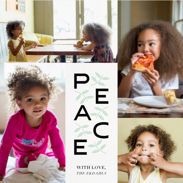 Leaves of Peace (Square) - Paperless Post