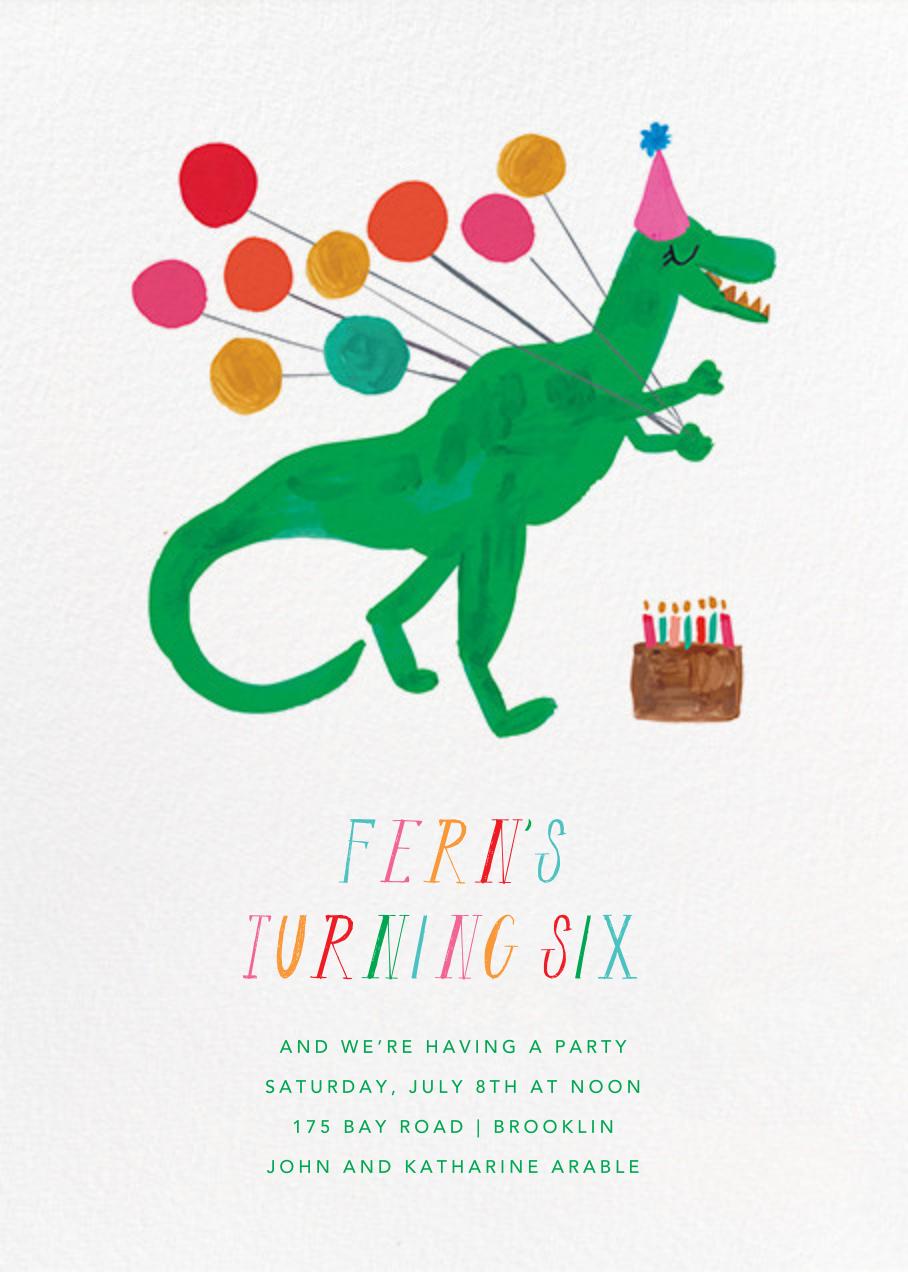 The T-Rex Is Eating My Cake - Mr. Boddington's Studio - Autumn Favorites