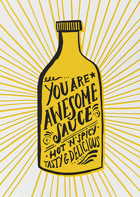 Awesome Sauce - Hello!Lucky - Encouragement