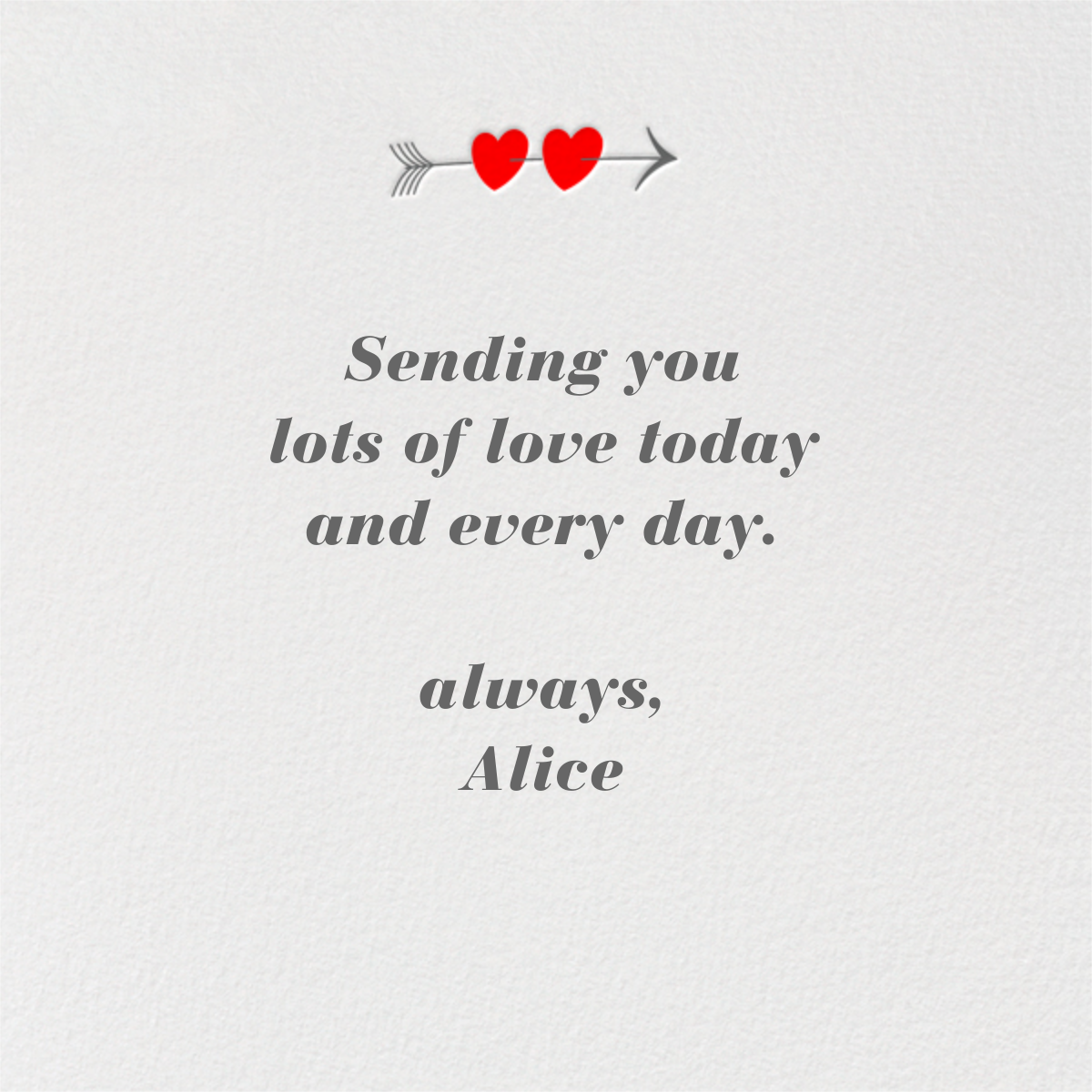 Together Forever - Paperless Post - Love and romance - card back