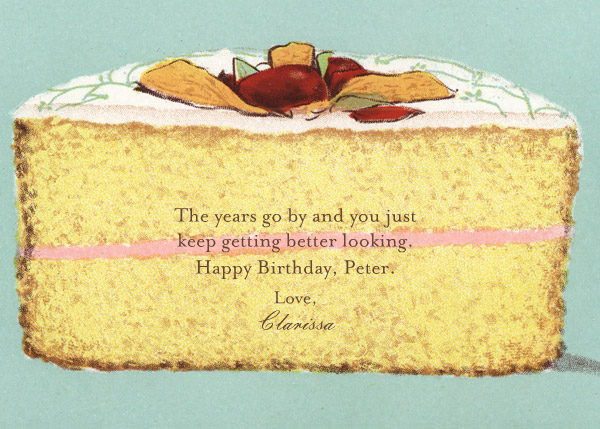 Cake - John Derian - Birthday