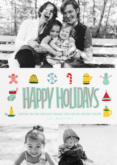 Holiday Souvenirs (Multi-Photo) - Paperless Post