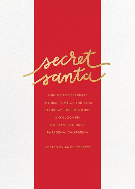 Santa Stripe - Sugar Paper - Christmas party