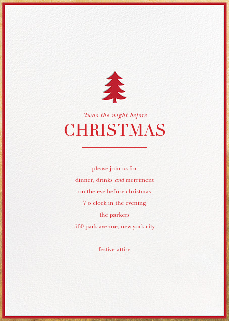 Pine Emblem - Sugar Paper - Christmas party