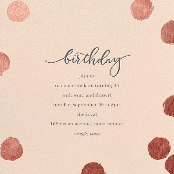 Big Dot Birthday - Pink/Rose Gold - Sugar Paper - Adult birthday
